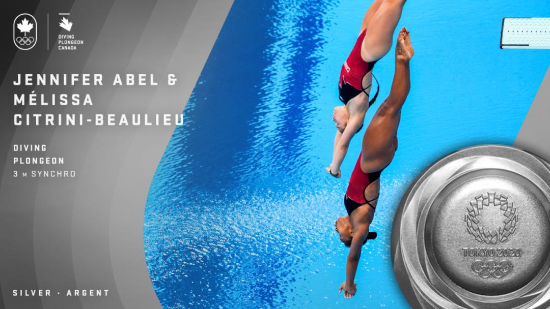 祝贺Maggie Mac Neil为加拿大争得第一枚金牌!为所有运动员加油!
