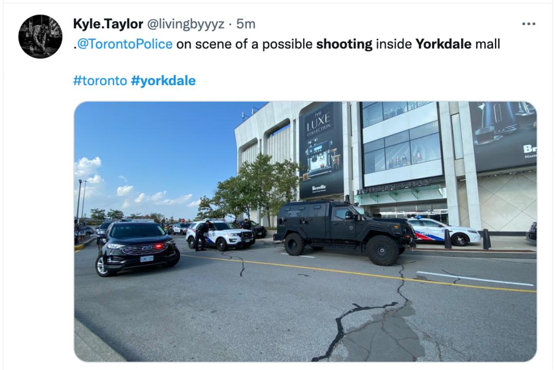 突发!多伦多Yorkdale发生枪击!商场内部紧急封锁!顾客躲进仓库逃命!