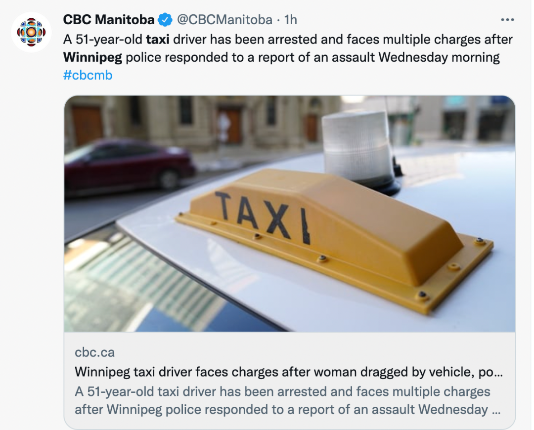 恐怖!加拿大女子乘坐出租车竟被勒索!挂在车窗上拖行几十米!